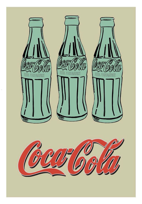 3 Coke Bottles 1962 Oil Painting