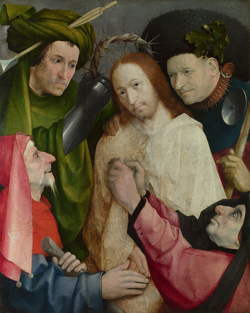 Christ Crowned with Thorns (Bosch, London) by Hieronymus Bosch I Blue Surf Art