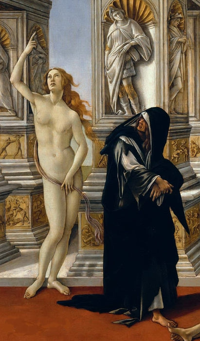 Calumny of Apelles (Botticelli)