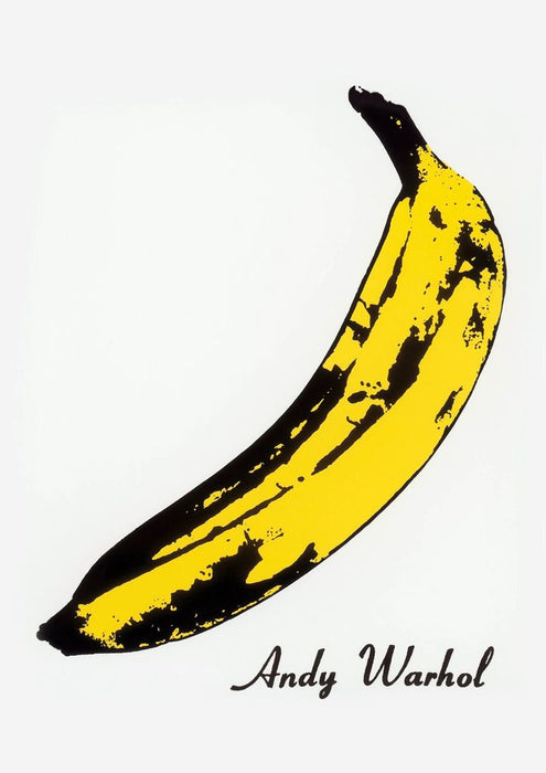 Banana Warhol Oil Painting