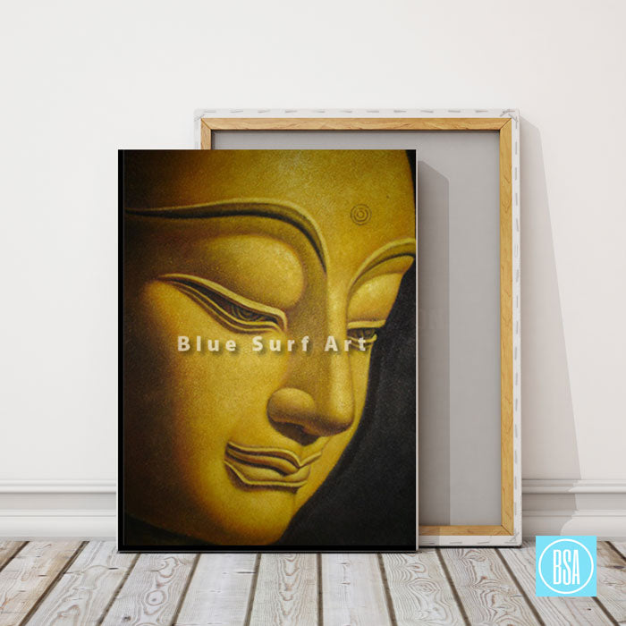 Shakyamuni Buddha Oil Painting on Canvas - showcase