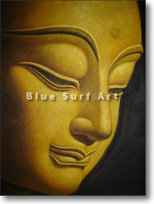 Shakyamuni Buddha Oil Painting on Canvas