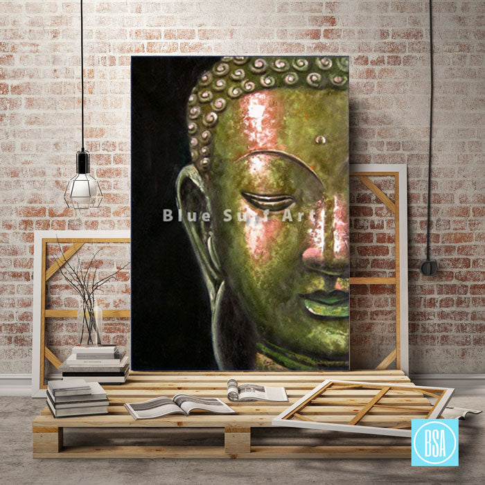 Studio with Thonburi Buddha Oil Painting