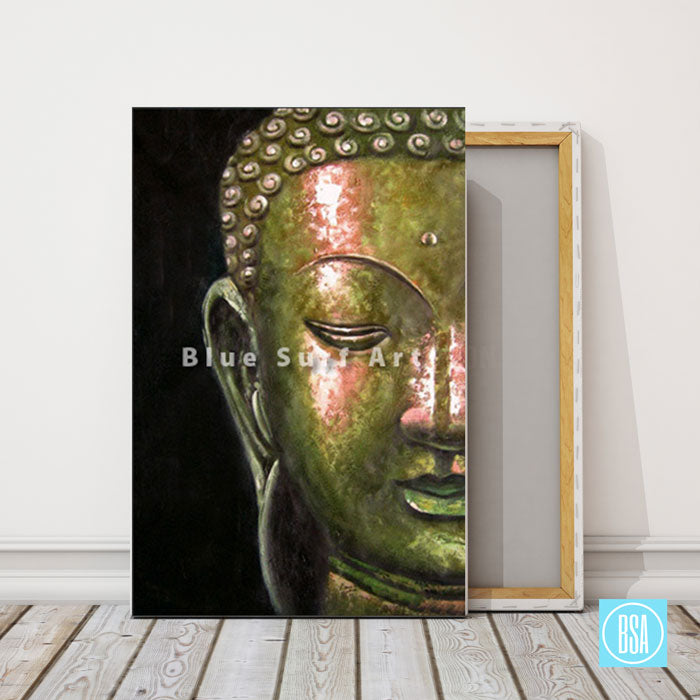 Thonburi Buddha Oil Painting showcase