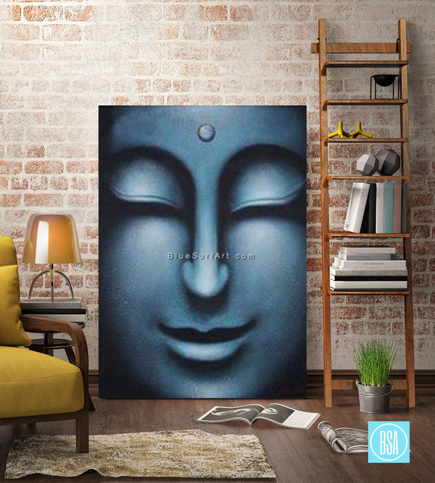 Happiness Within - Buddha Oil Painting