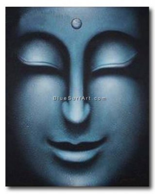 Happiness Within - Rattanakosin Buddha Oil Painting