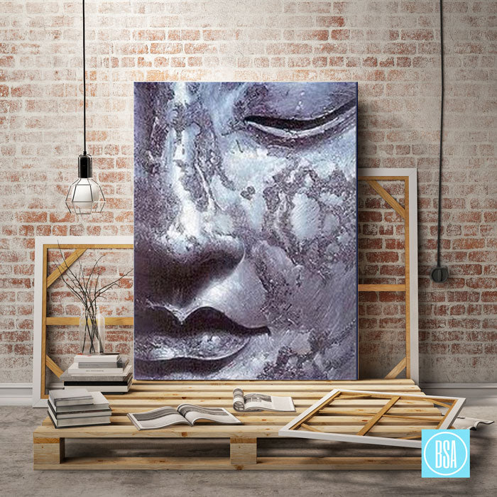 Meditation Buddha Painting - studio showcase