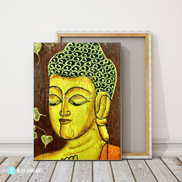 Moksha Buddha Painting - studio showcase