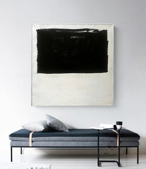 Extra Large Abstract Painting On Canvas, Oversized Minimalist Painting - wall art