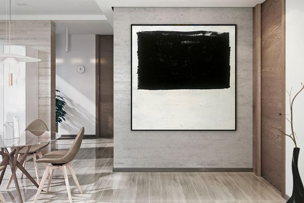 Extra Large Abstract Painting On Canvas, Oversized Minimalist Painting 4
