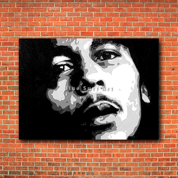 Bob Marley - red brick wall
