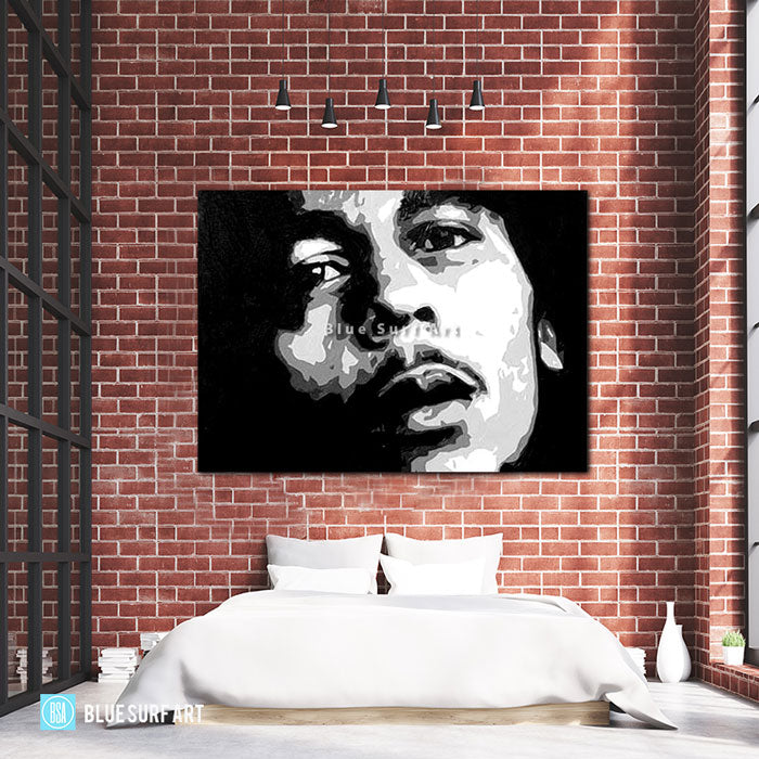 Bob Marley - Bed Room Showcase