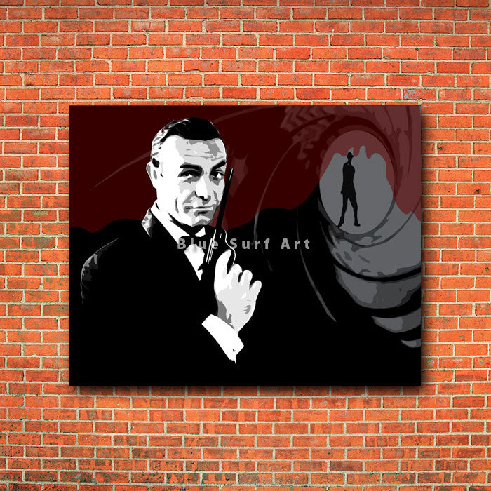 Bond - red brick wall