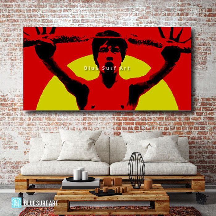 Bruce Lee Martial Arts - living room