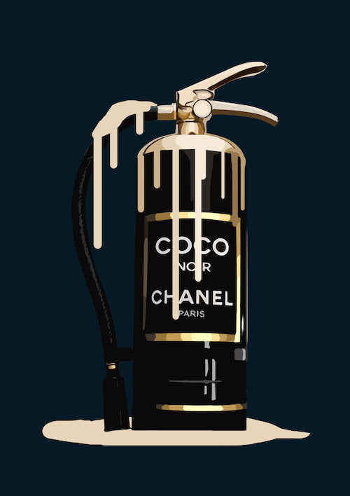 Chanel Fire Extinguishers Melting
