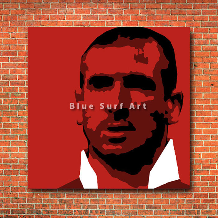 Cantona - red bricks wall