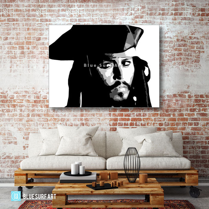 Captain Jack Sparrow - living room