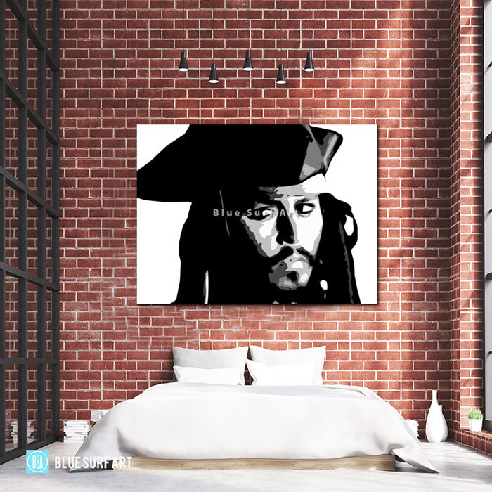 Captain Jack Sparrow - Bed Room Showcase