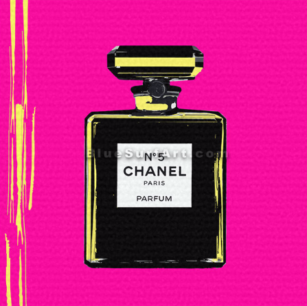 Chanel Perfume Canvas Art Oil Painting