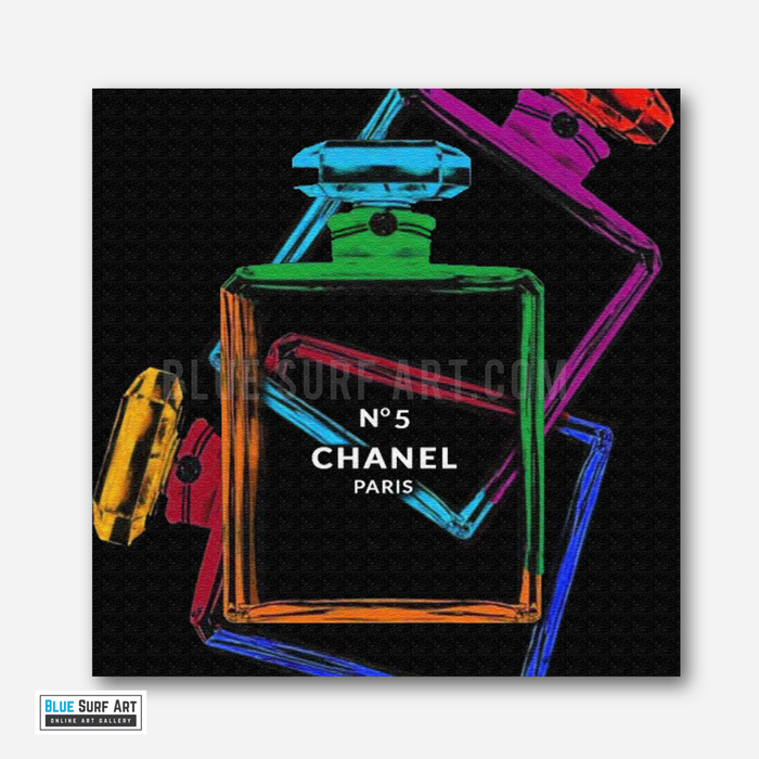 Chanel Perfume Warhol Canvas Art Oil Painting