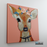 Pretty Deer Canvas Art Painting, Animal Pop Art, Room Decor, Wall Art - 3