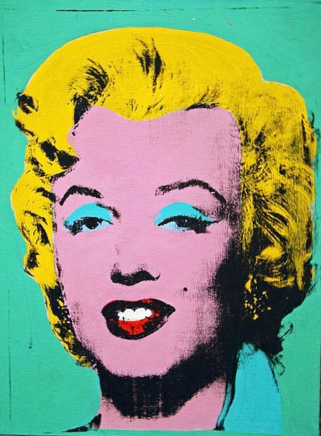 Marilyn Warhol Oil Painting