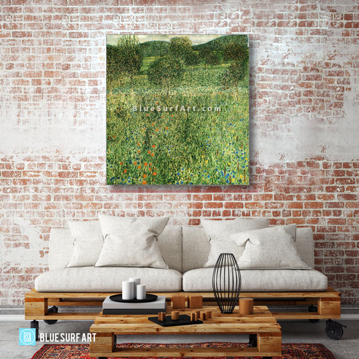 Flowering Field - living room
