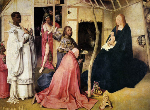 Adoration of the Magi (Bosch, Madrid) by Hieronymus Bosch I Blue Surf Art