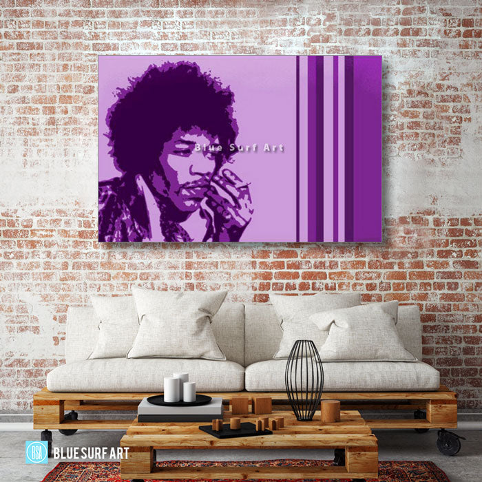 Jimi Hendrix - living room