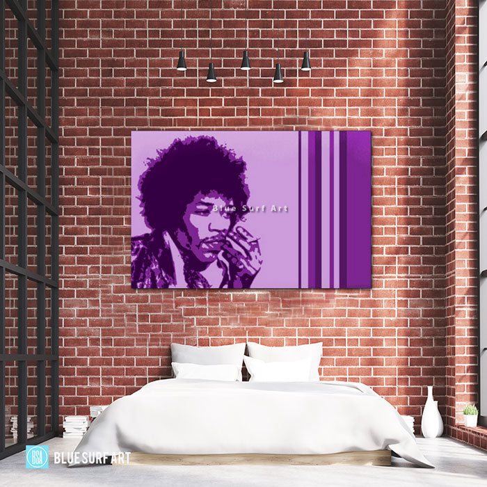 Jimi Hendrix - Bed Room Showcase
