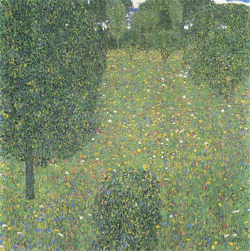 Landscape Garden (Meadow in Flower) by Gustav Klimt Oil Painting on Canvas