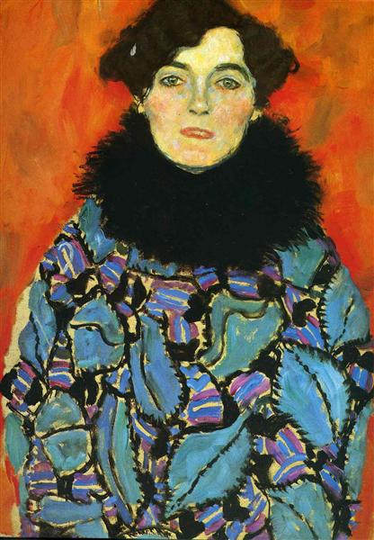 Portrait of Johanna Staude by Gustav Klimt Oil Painting on Canvas