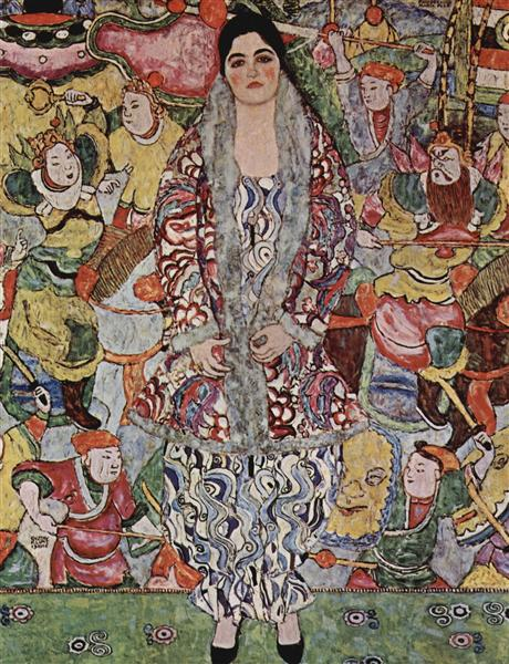 Fredericke Maria Beer by Gustav Klimt-100% Hand Painted Oil Painting on Canvas