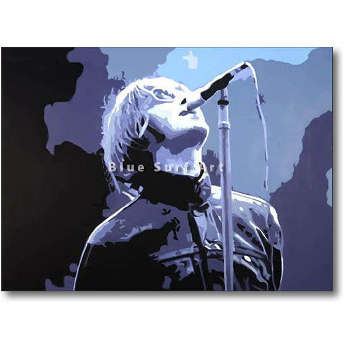 Liam Gallagher Painting