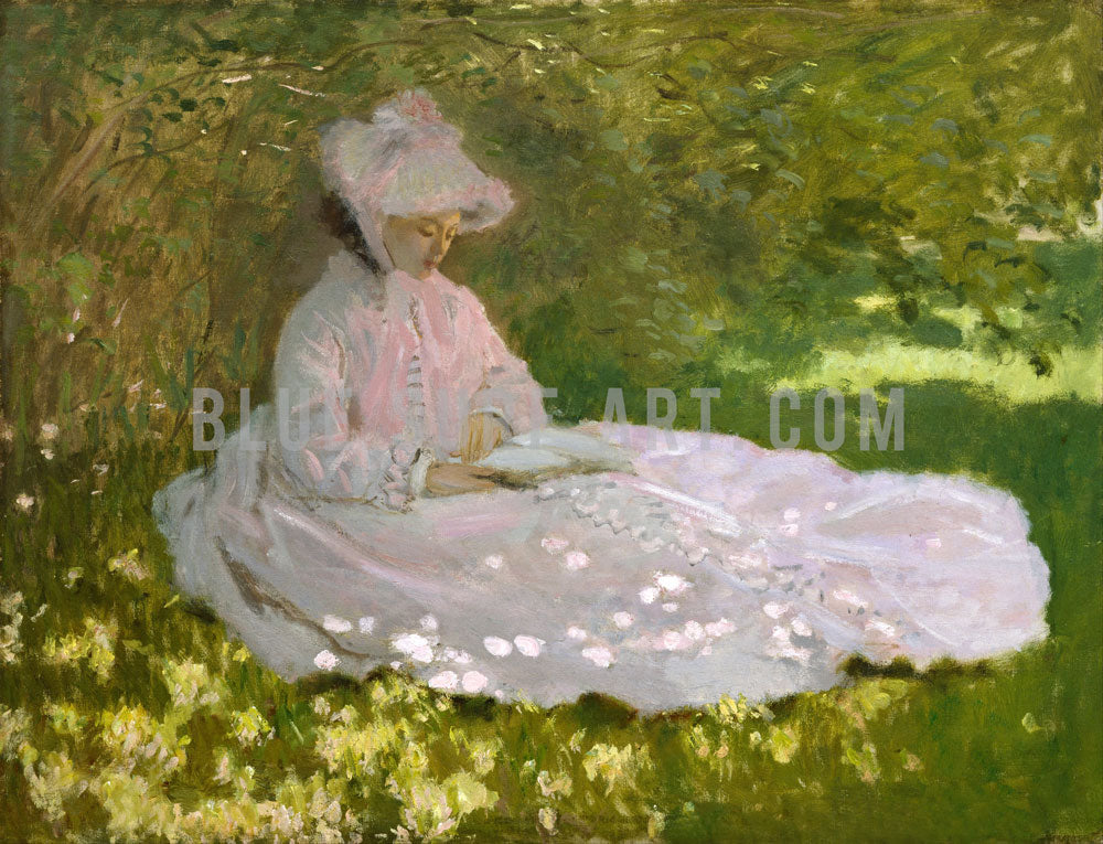 Springtime, 1872. Reproduction Oil Painting on Canvas  I  Blue Surf Art