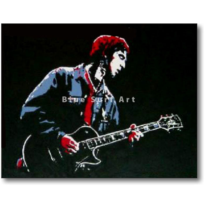 Noel Gallagher Painting