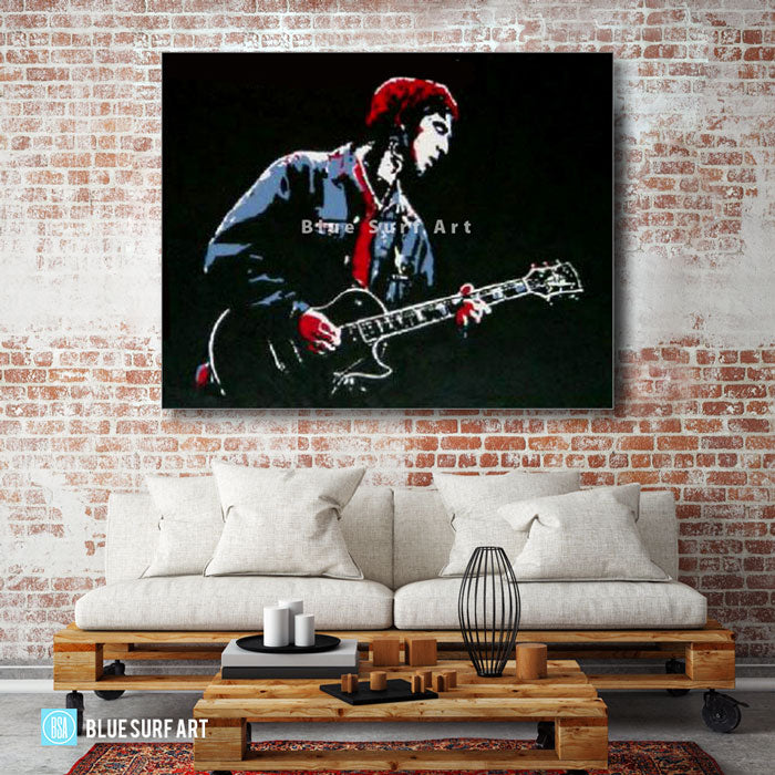 Noel Gallagher Painting - living room