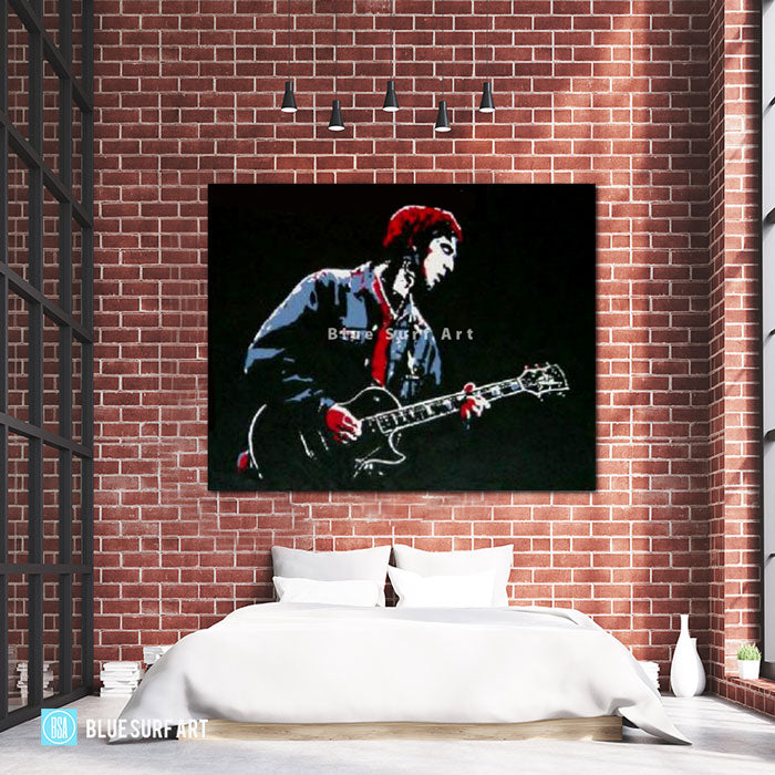 Noel Gallagher Painting - Bed Room Showcase