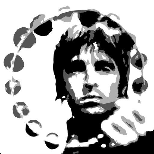 oasis wall art, Liam and noel oasis canvas art