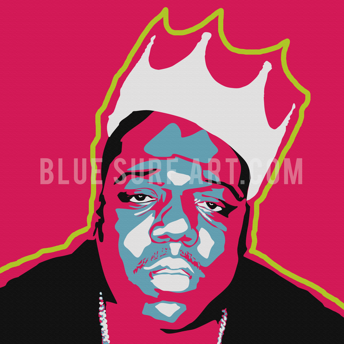 Biggie Smalls Canvas Art Painting