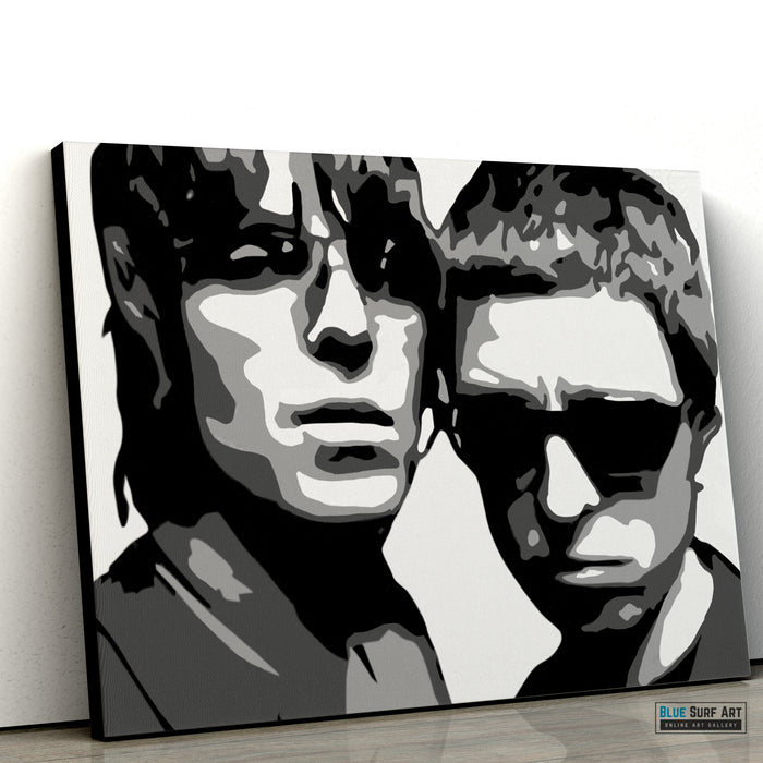 Noel and Liam Gallagher - Oasis