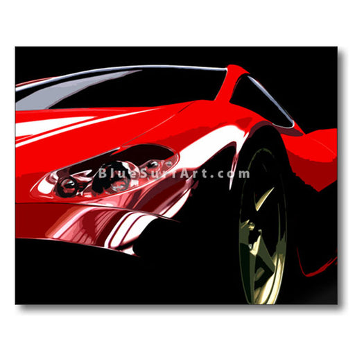 Ferrari Oil Painting on Canvas