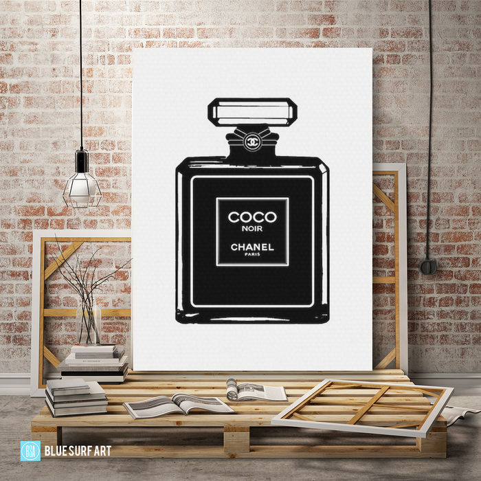 Coco oil painting on canvas by Blue Surf Art - 1 studio