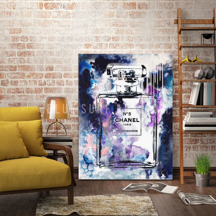 Senses oil painting on canvas by Blue Surf Art  - living room