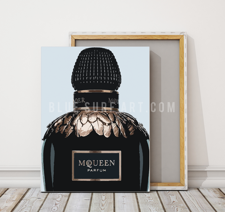 Mqueen oil painting on canvas by Blue Surf Art - 3
