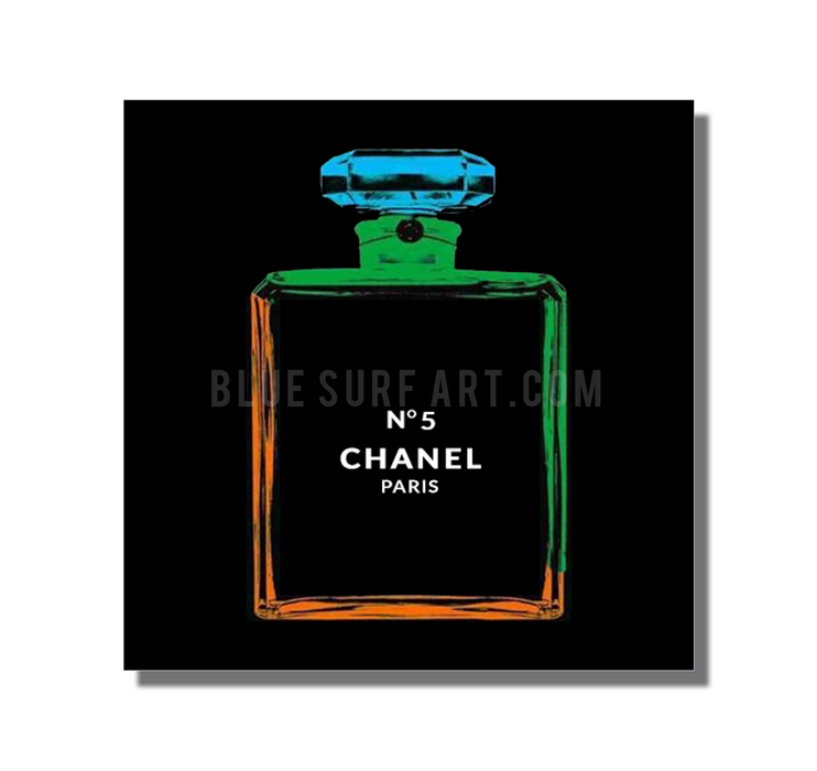 Chanel Warhol painting by Blue Surf Art 4 - showcase