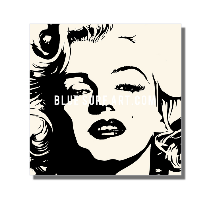 Marilyn Monroe oil painting on canvas by Blue Surf Art - 3 showcase