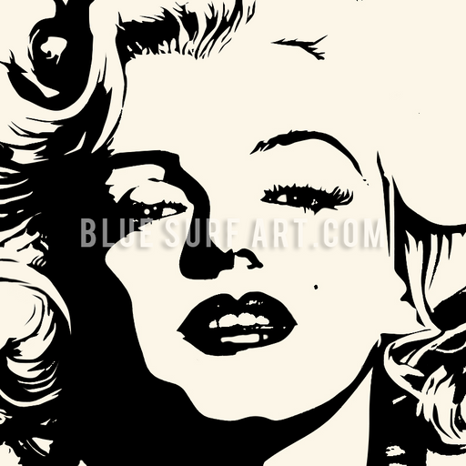Marilyn Monroe oil painting on canvas by Blue Surf Art - 1