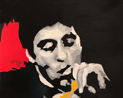 Scarface Tony Montana Wall Art