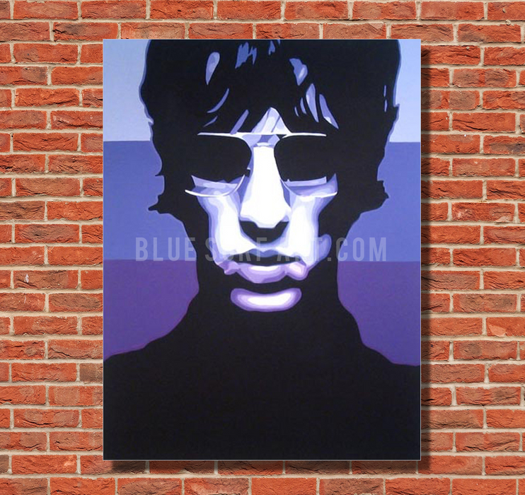 Keys to the World - Richard Ashcroft Oil Painting on Canvas by Blue Surf Art 1